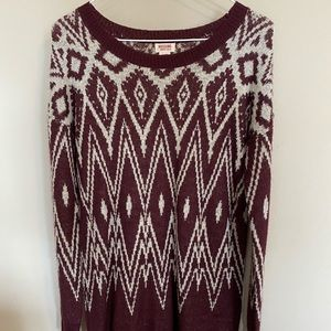 mossimo (target) sweater dress